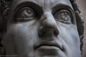 ph/Paolo Bondielli - Dettaglio della testa colossale