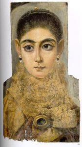 Ritratto di donna dal Fayum/ ph wikipedia commons