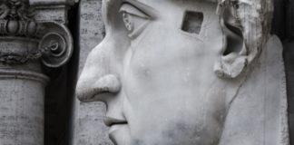 statua colossale costantino