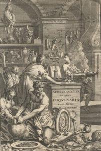 Apicio, ritratto da Lister nel 1709 / ph Kansas State University