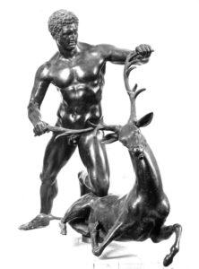 Heracle e la cerva I d.C. (Pompei) - Museo Salinas