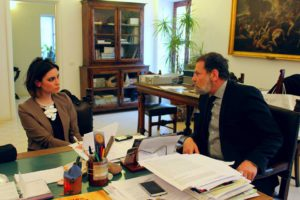 Alessandra Randazzo e Massimo Osanna ph/Maria Mento