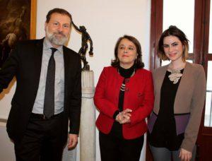 Massimo Osanna, Francesca Spatafora, Alessandra Randazzo /ph Maria Mento