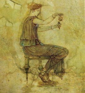 Pittura della casa della Farnesina a Roma / arraonaromana.org