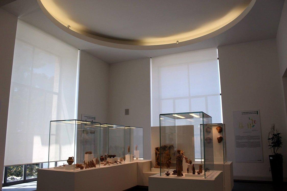 Una sala del Museo Archeologico Nazionale di Reggio Calabria. Ph/Maria Mento