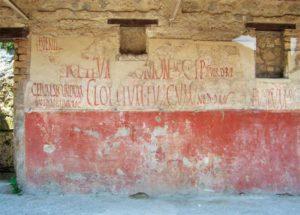Manifesti elettorali a Pompei/ wikimedia
