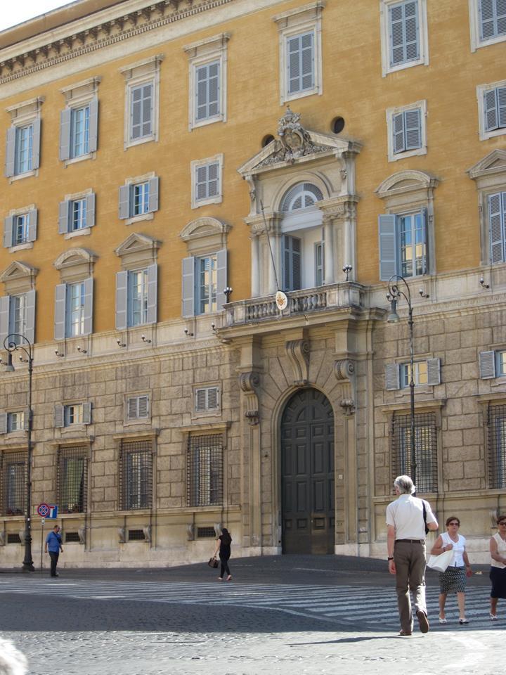 Ingresso del Palazzo del Sant'Uffizio