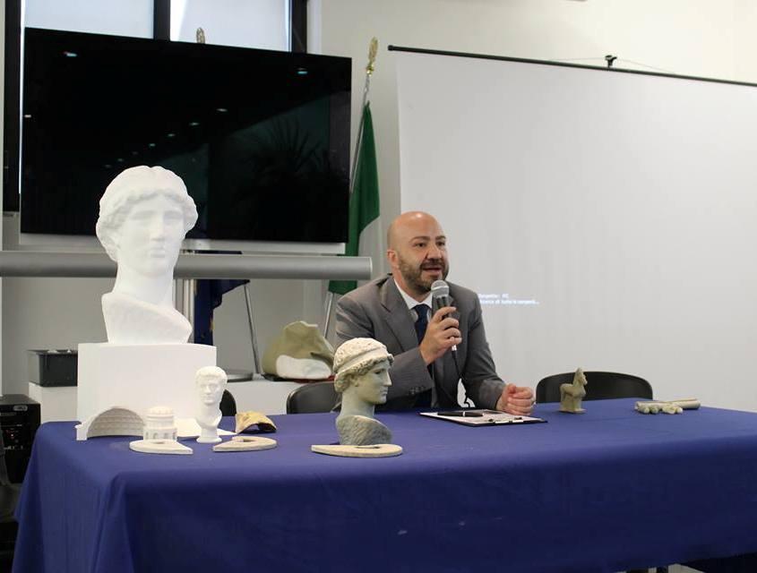 Carmelo Malacrino, direttore del MArRC