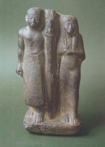 Pa-en-dua e Nesha. Crediti/ La collezione egiziana del Museo Archeologico Nazionale di Napoli.