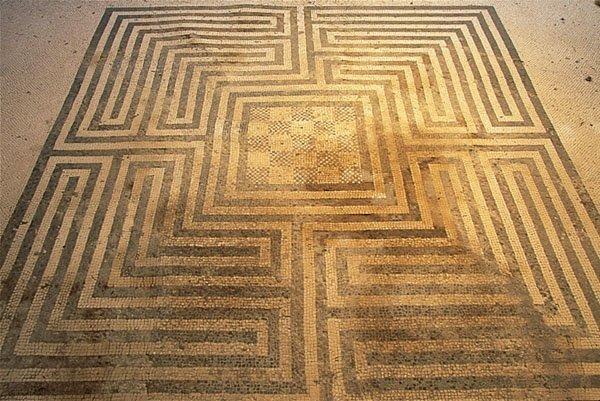 Domus dei Mosaici Geometrici/ph Pompei Soprintendenza