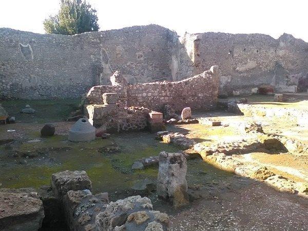 Regio IX nuovi scavi/Credits Marco Pirollo