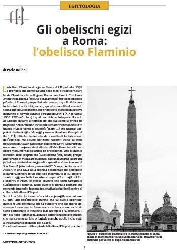 Gli obelischi egizi a Roma