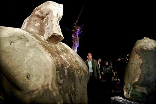 E' di Psammetico I il colosso trovato a Eliopoli