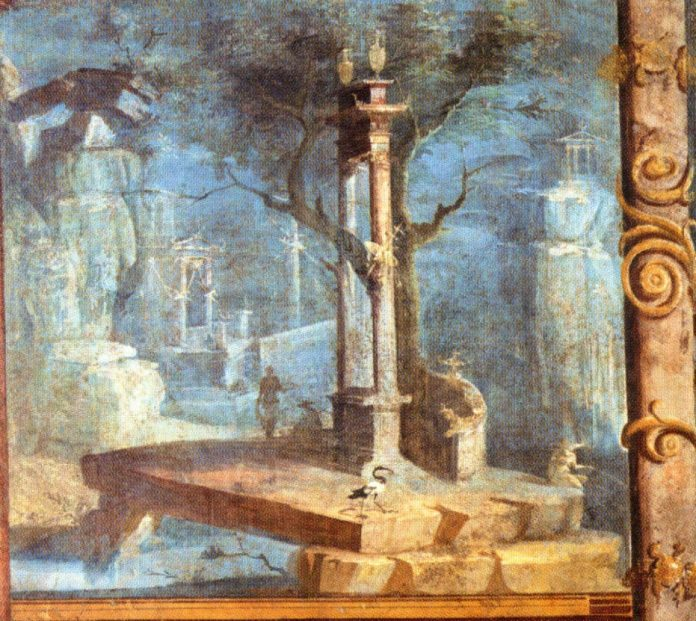 Pompeii Temple Of Isis - MAN